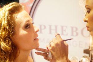 Atelier maquillage avec Phebo
