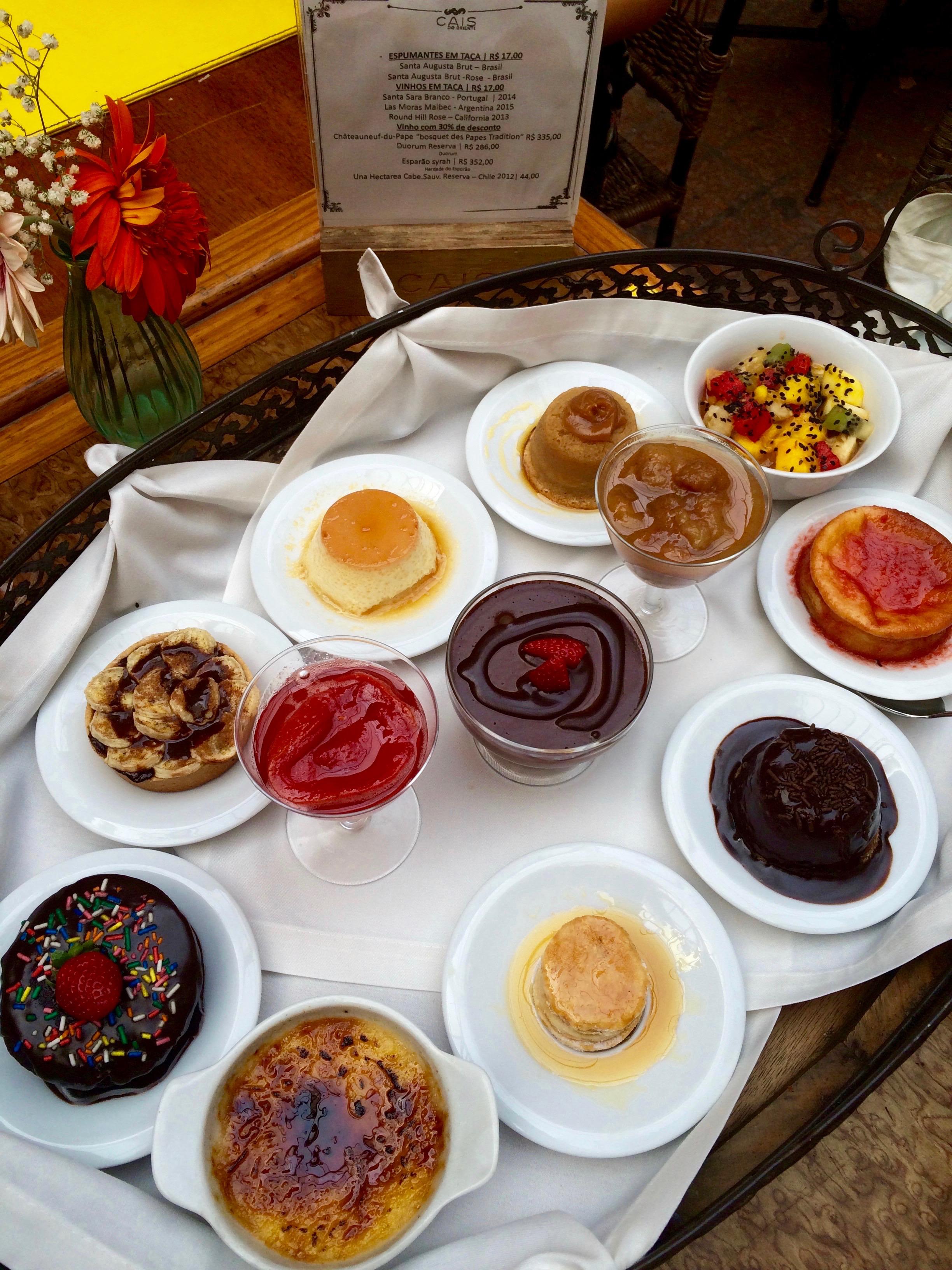 Les desserts , Cais