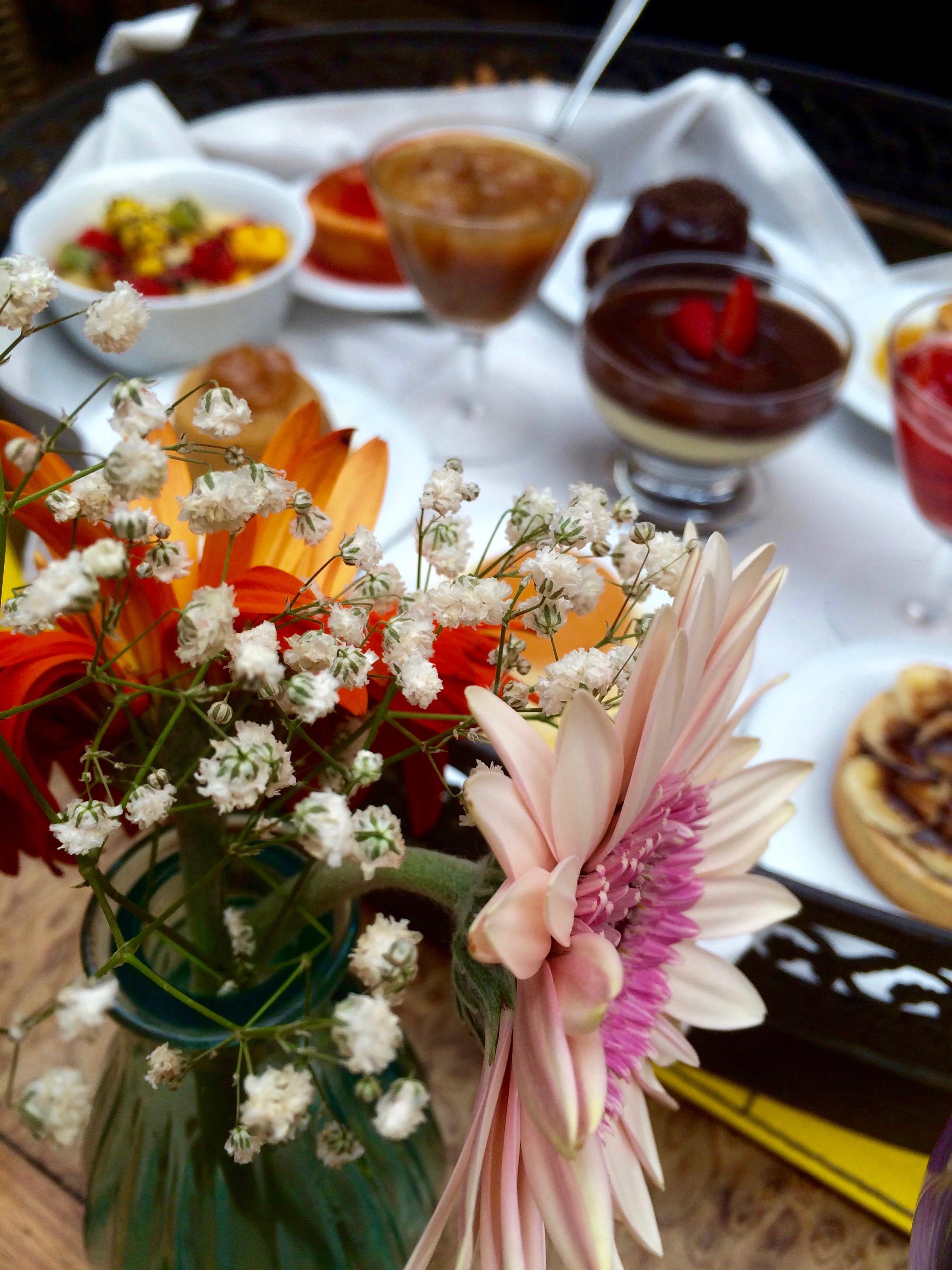Décoration et dessert , Cais restaurante