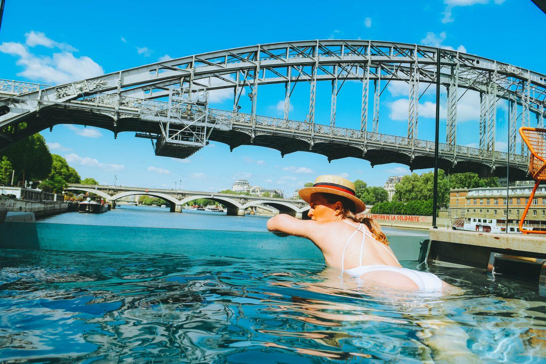 France paris deux h tels avec une piscine for Paris hotel avec piscine