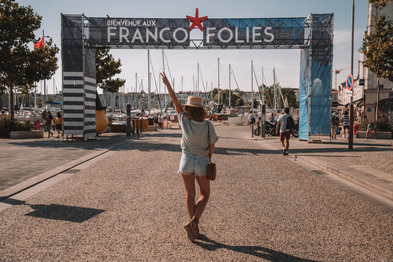 LES FRANCOFOLIES DE LA ROCHELLE AVEC OUI.SNCF !